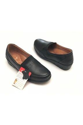 Polaris 103165.Z Siyah Kadın Comfort Ayakkabı 100555578 1