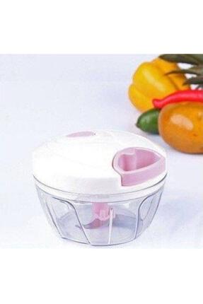 YAKUT Ipli Çekmeli Sebze Meyve Doğrayıcı 3 Bıçaklı El Blender Rondo 0