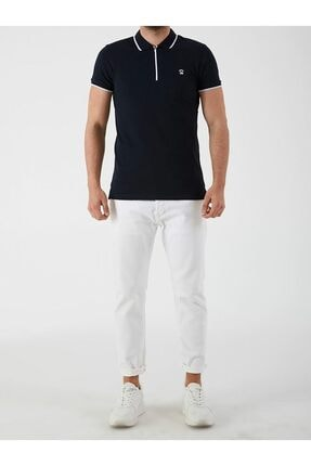 Ltb Erkek Lacivert Rıgosı Polo Yaka T-shirt 2