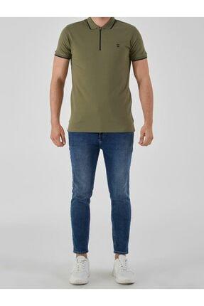 Ltb Erkek  Yeşil Polo Yaka T-Shirt 0122084075609440000 2