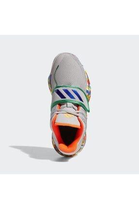 adidas Kadın Gri Deep Threat Basketbol Ayakkabısı 4