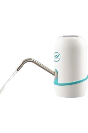 ASTRAL Elektrikli, Şarjlı Damacana Su Pompası-beyaz 0