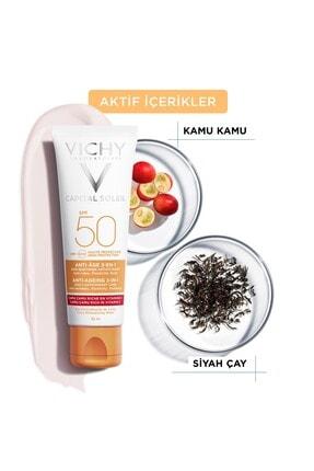 Vichy Ideal Soleil Spf50 Anti Ageing Care Cream 50 Ml 2