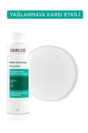 Vichy Dercos Oil Control Aşırı Yağlanmaya Karşı Etkili Bakım Şampuanı 200 ml 3337871311346 1