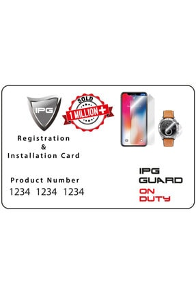 Ipg Oppo Watch 46 Mm Ekran Koruyucu (2 Adet) 2