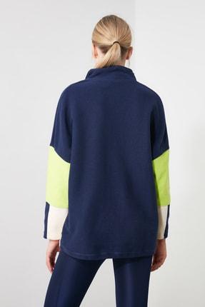 TRENDYOLMİLLA Renk Bloklu Cep Detaylı Spor Sweatshirt TWOAW21SW0170 3