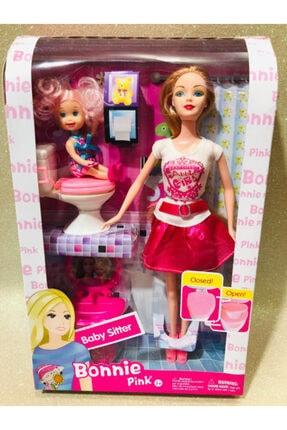 oyuncakchi Barbie Et Bebek Tarzı Tuvalet Eğitimi Klozetli Oyuncak Et Bebek 30 Cm Bonnie Pink 3