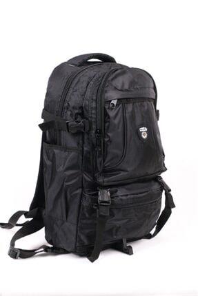 Unisex Siyah Motorcu Sırt Çantaları RK0086