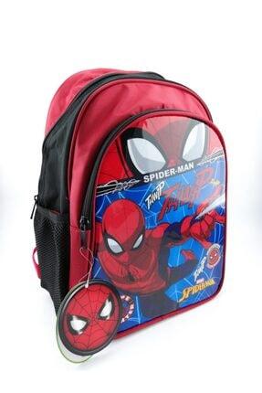 Hakan Çanta Lisanslı Örümcek Adam Karakterli Ilkokul Sırt Çantası 0