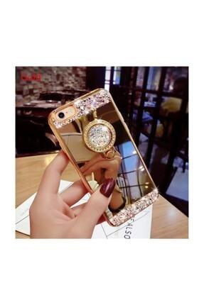 Ksyaccessories Iphone 8 Plus Aynalı Ve Taşlı Selfie Yüzüklü Telefon Kılıfı 3