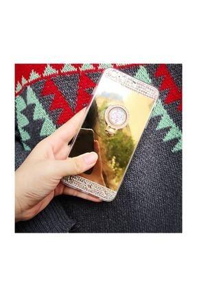 Ksyaccessories Iphone 7 Plus Aynalı Ve Taşlı Selfie Yüzüklü Telefon Kılıfı 0