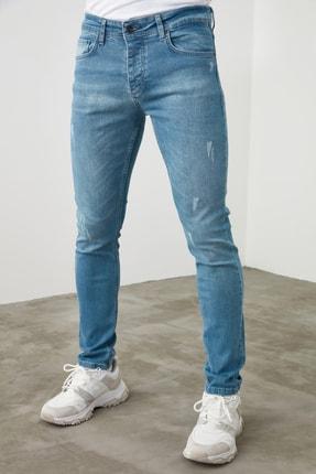 TRENDYOL MAN Mavi Erkek Skinny Jeans TMNSS20JE0261 3
