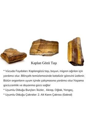 ASPİDA DESİGN Doğal Kaplan Gözü Naturel Taş Bileklik 1