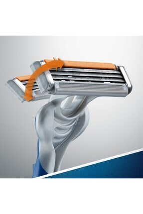 Gillette Milli Takım Özel Seri Blu3 6 Adet Tıraş Köpüğü 200 ml 2