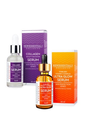 New Essentials C Vitamini + Kolajen Serum 2'li Set 0