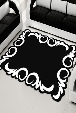 RISSE Lazer Kesimli Salon Halısı 0
