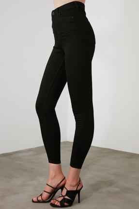 TRENDYOLMİLLA Siyah Yüksek Bel Skinny Jeans TWOAW21JE0251 4