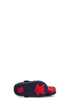 Akınalbella Unisex Lacivert Kırmızı Sandalet 3