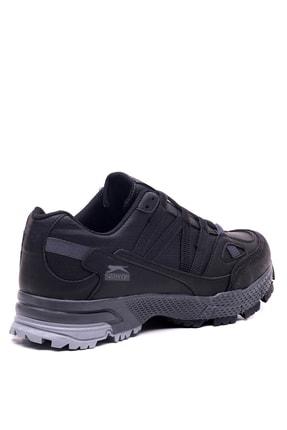 Slazenger Arasta Koşu & Yürüyüş Erkek Ayakkabı Siyah 3