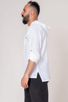 İpekçi Otantik Cotton Kapşonlu Erkek Gömlek 2