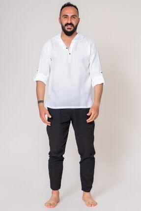İpekçi Otantik Cotton Kapşonlu Erkek Gömlek 3