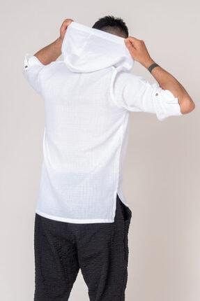 İpekçi Otantik Cotton Kapşonlu Erkek Gömlek 4