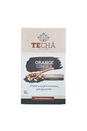 Te Cha Tea Orange Ginger - Portakal Ve Zencefilli Siyah Çay 50gr 2