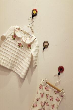 Cantaz Kız Bebek Beyaz Çiçekli İkili Takım 2