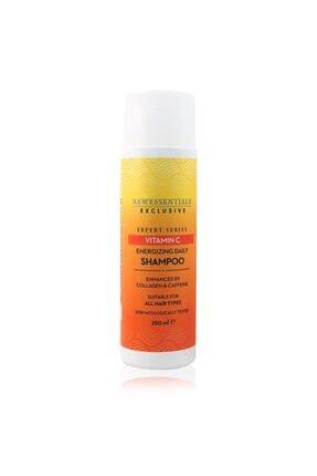 New Essentials C Vitamini Canlandırıcı Günlük Saç Bakım Şampuanı 250 Ml 1