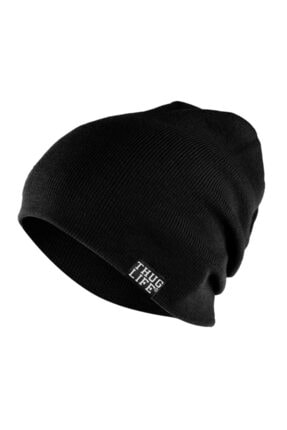 Thug Life Triko Bere Siyah 0