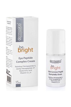 Dermoskin Be Bright Göz Çevresi Peptit Kompleks Krem 15 ml 0