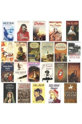 Dorlion Yayınevi Türk Klasikleri Kitap Seti 22 Kitap (100 Temel Eser) 0