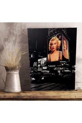 nilhediye Marilyn Monroe Canvas Tablo 60x80 0
