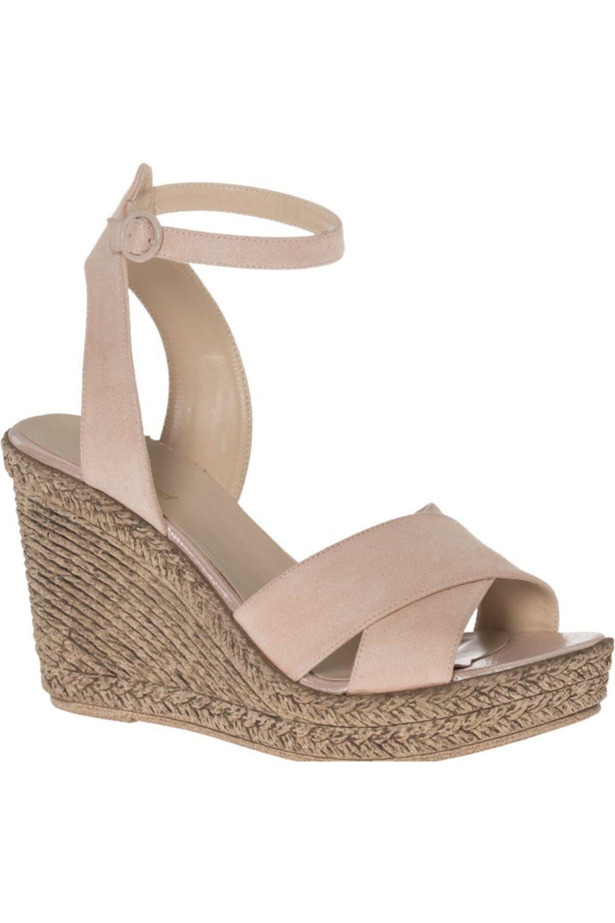 Graceland Deichmann Graceland Kadın Pudra Topuklu Sandalet