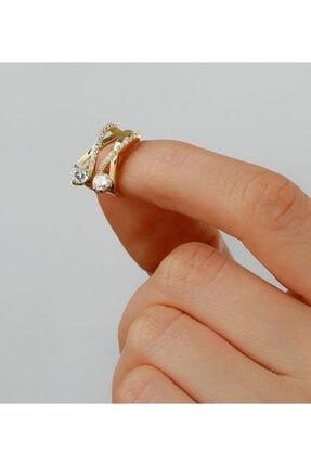 Gümüşistan 925 Ayar Gümüş Tektaş Örgü Küpe 1
