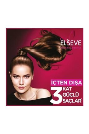 Elseve L'oréal Paris Komple Direnç Dökülme Karşıtı 2'si 1 Arada Şampuan 450 ml 3