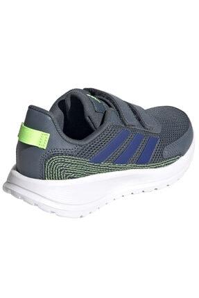 adidas TENSAUR RUN C Gri Erkek Çocuk Koşu Ayakkabısı 100663742 2