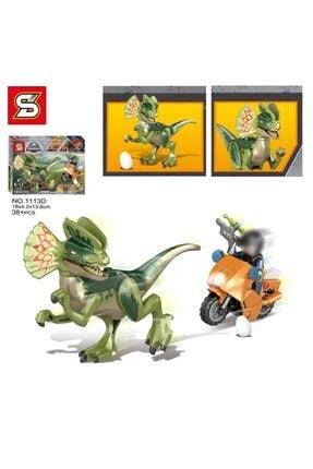 e-life Es1113 Lego Blok Yapı Jurassic Park Jurassic World Serisi 4 Paket Bir Arada 4