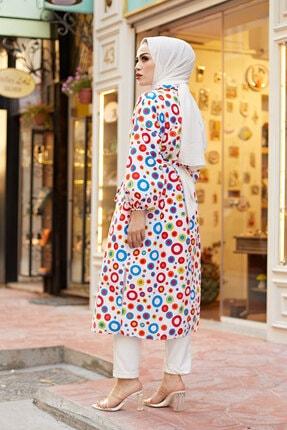 Elifnur Kadın Renkli Kimono 8946-13 3
