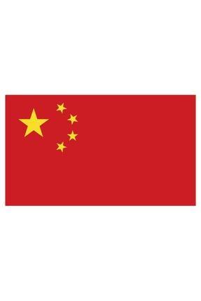 Sticker Fabrikası Çin Bayrağı Sticker 00703 13x7,5 Cm 0