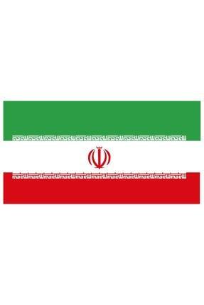 Sticker Fabrikası Iran Bayrağı Sticker 00704 9x5 Cm 0