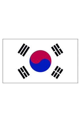 Sticker Fabrikası Kore Bayrağı Sticker 00717 11x6,5 Cm 0