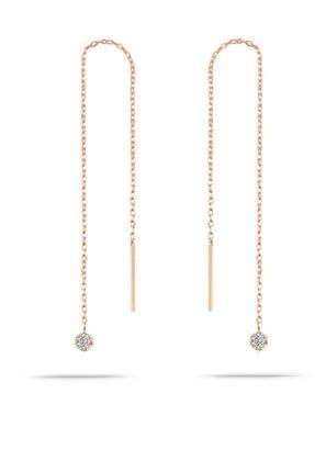 Trend Silver Gümüş Rose Zirkon Taşlı Tiffany Set Sıra Taşlı Takım Seti 3