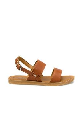 Polaris 315684.Z Taba Kadın Sandalet 100508325 1