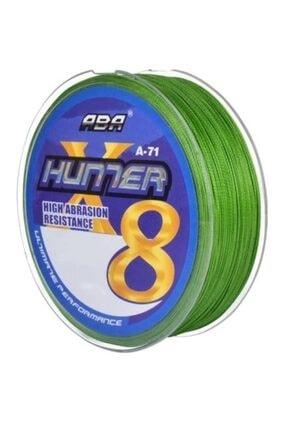 ABA Hunter X8 8 Kat Örgü Ip Misina 300 Mt Yeşil Renk 0.29 Mm 1