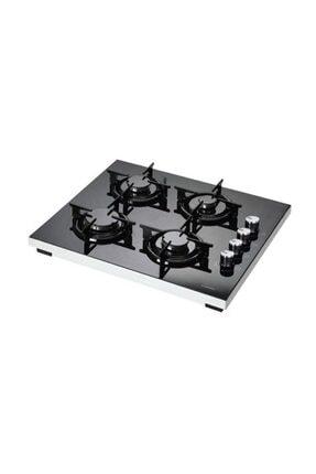 Luxell LX-40TSHDF Siyah Doğalgazlı Set Üstü Cam Ocak 1