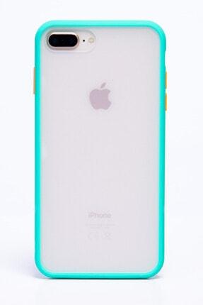 POFHİ Iphone 7 Plus Yeşil Silikon Telefon Kılıfı 0