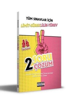 Benim Hocam Yayınları 2021 Tüm Sınavlar İçin Limit Süreklilik Türev 2 Soru 2 Çözüm Fasikülü 0