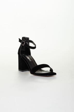 derithy -klasik Topuklu Ayakkabı-siyah Süet 2