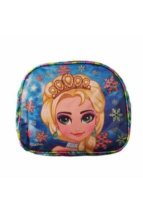 Mashotrend 7d Frozen Elsa Baskılı 3 Gözlü Okul Çantası + Beslenme Çantası + Suluk + 5 Maske + Kolonya Hediyeli 4